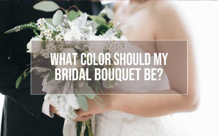 bridal bouquet color