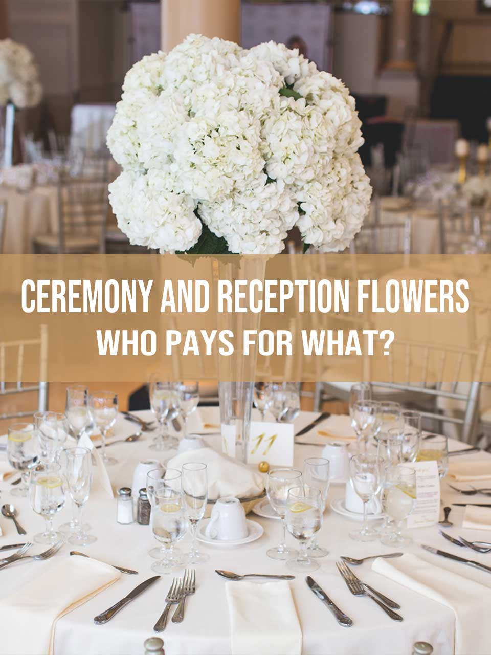 ceremony and reception flowers