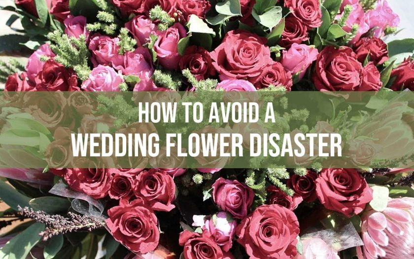 Wedding Flower Disaster