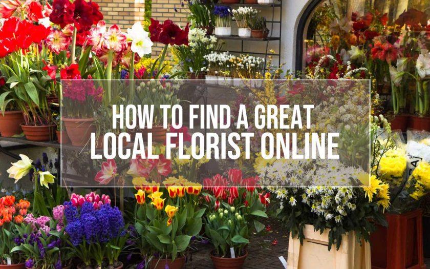find a local florist