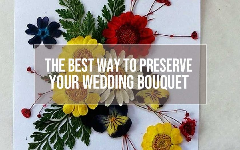 preserve your wedding bouquet