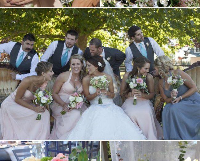 Real DIY Wedding Vintage Elegance