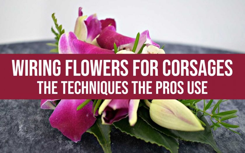 wiring flowers