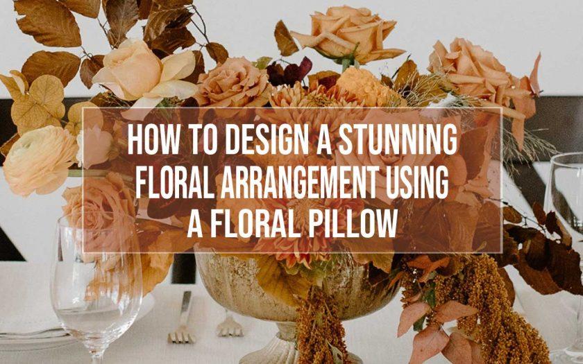 floral pillow mechanic
