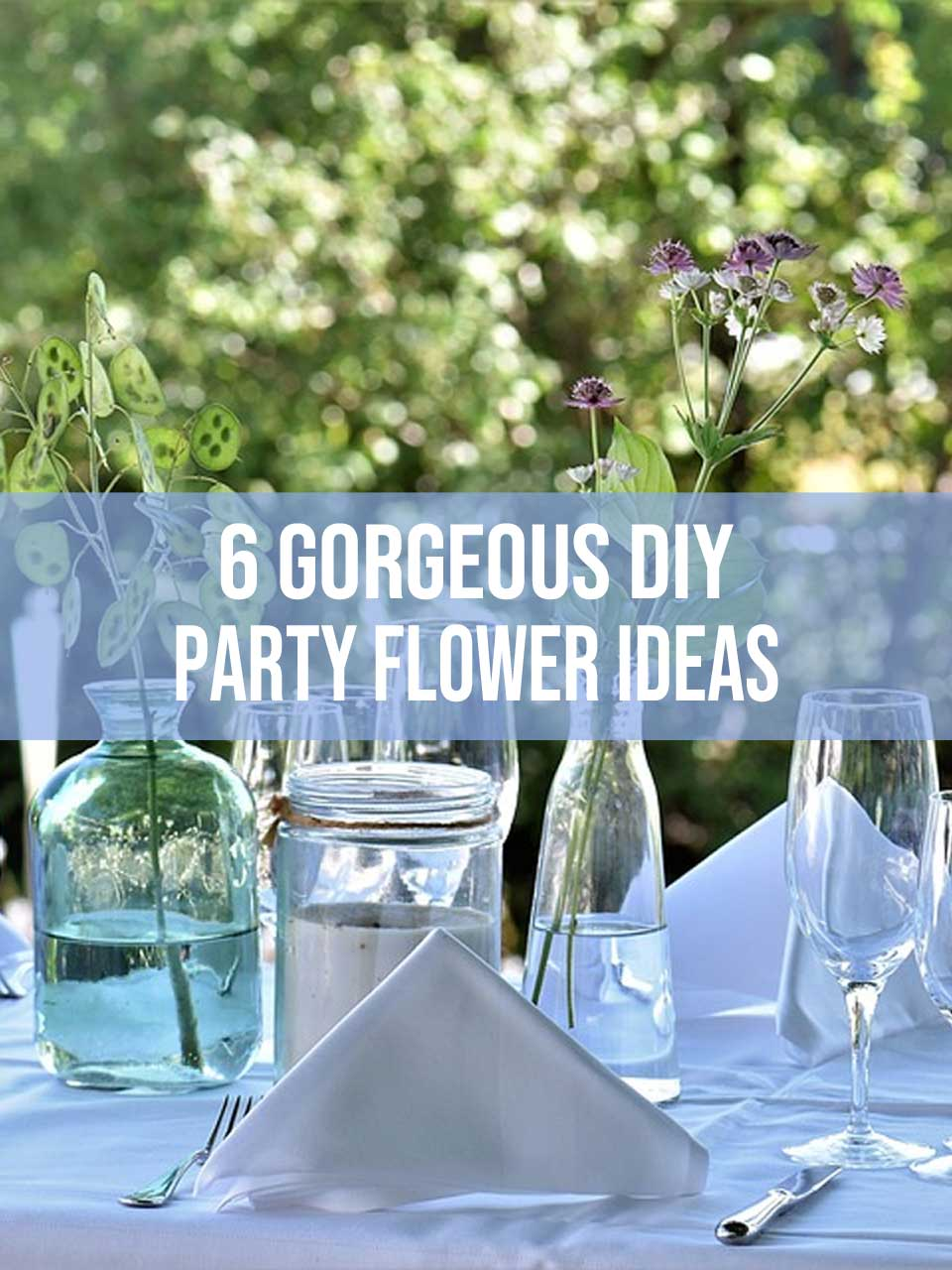 party flower ideas