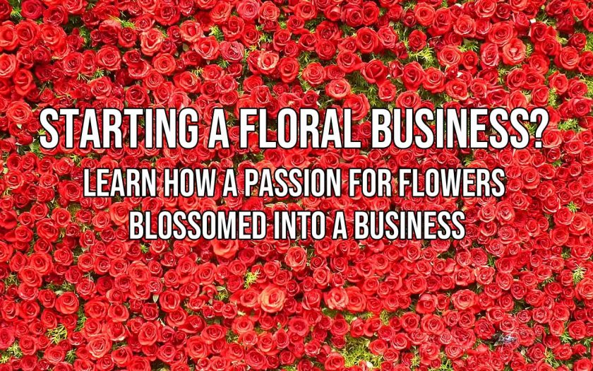 starting a floral business