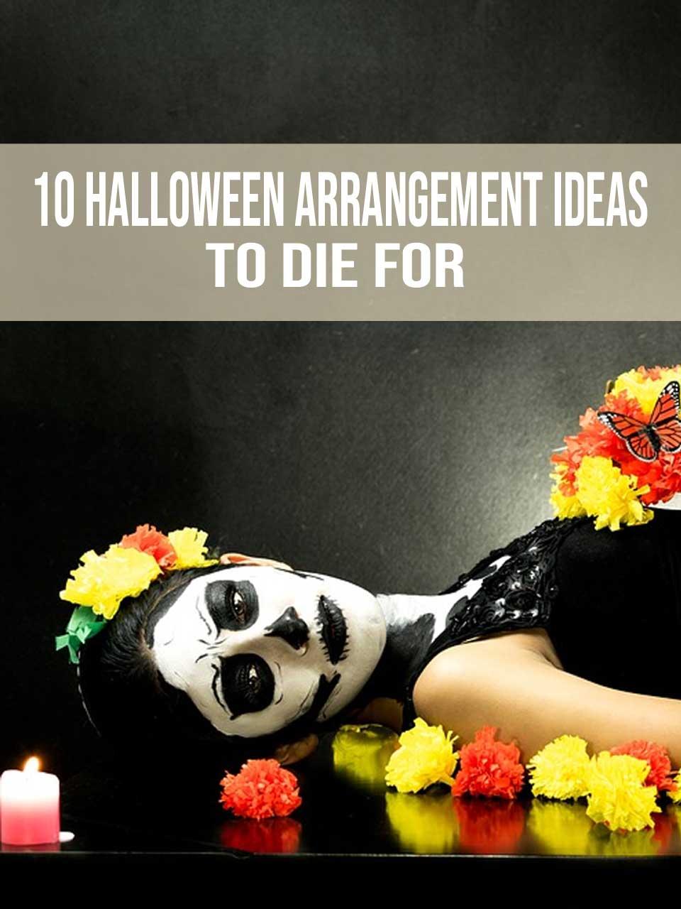 Halloween Arrangement Ideas