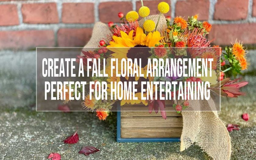 Create A Fall Floral Arrangement