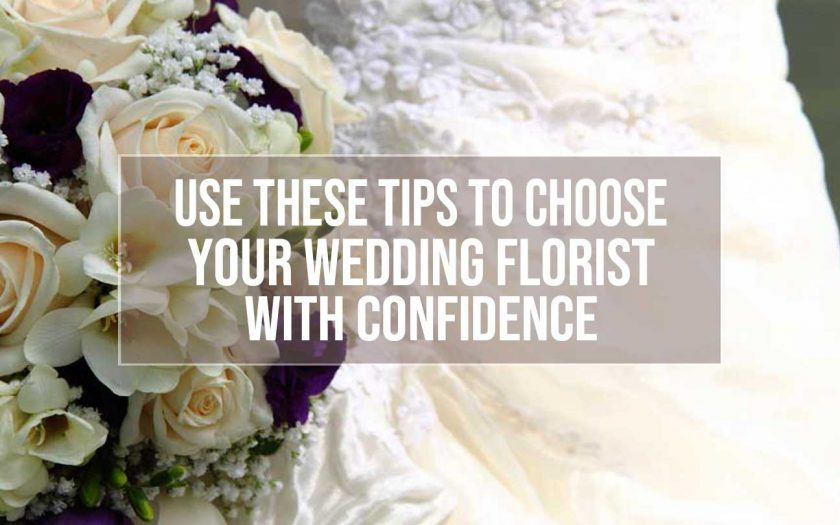 choose wedding florist