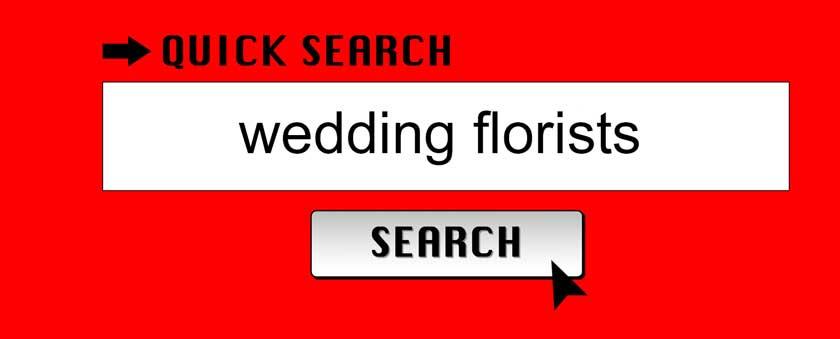 search wedding florists